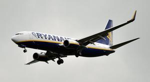 The budget carrier is one of Europe's largest airlines (Nick Ansell/PA)