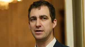 Brendan Cox is facing his second Christmas without Jo (Jonathan Brady/PA)