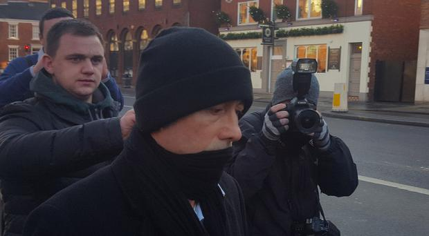 Kieran Creavan outside Leeds Crown Court, where he has admitted sex offences (Dave Higgens/PA)