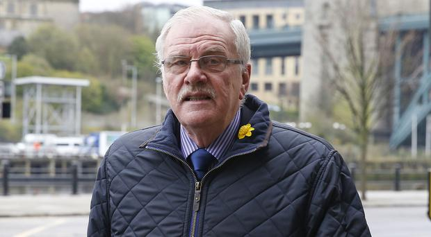Colin Gregg, 76, who had his sentence cut by five years at the Court of Appeal in London (Owen Humphreys/PA)