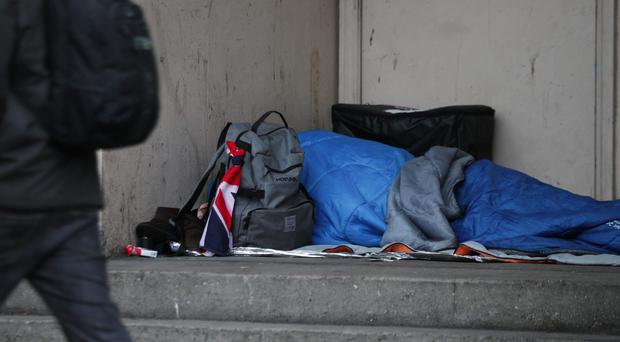 Homelessness in England 'a national crisis', say MPs