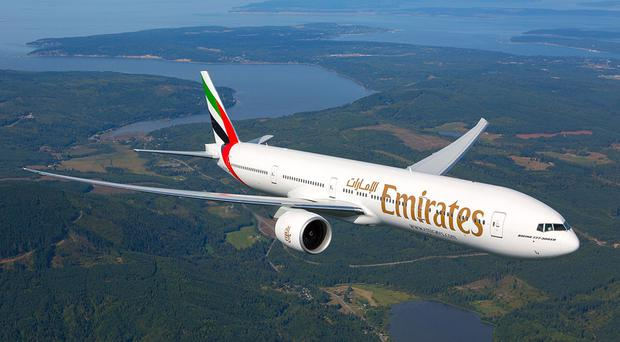 Emirates launches Stansted to Dubai route (Emirates/PA)
