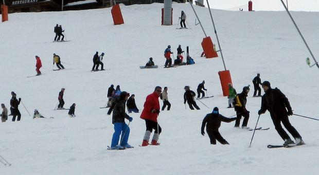 Many people will be heading for the ski slopes (David Cheskin/PA)