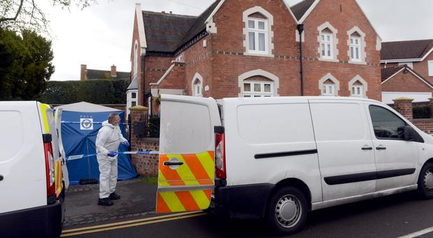 The attack happend in the family home in Greyhound Lane, Stourbridge (Joe Giddens/PA)