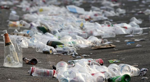 MPs warned only 7.5 billion of the 13 billion plastic bottles used in the UK each year are recycled (Peter Byrne/PA)