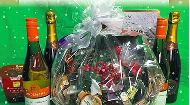 The police force lured criminals in with the offer of a Christmas hamper (South Yorkshire Police/PA)