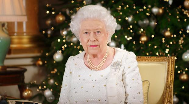 The Queen will pay tribute to the Duke of Edinburgh during her festive address (Sky News/PA)