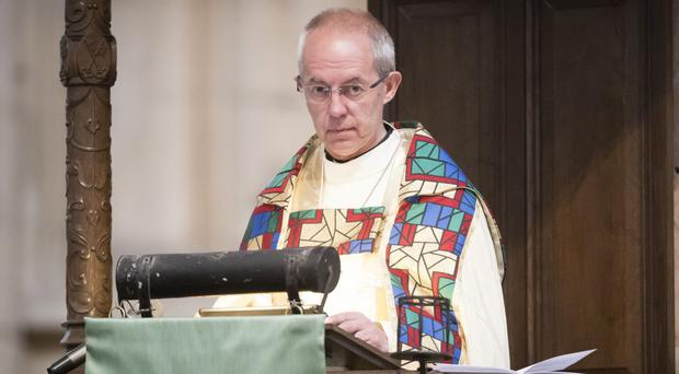 Archbishop of Canterbury the Most Rev Justin Welby (Danny Lawson/PA)