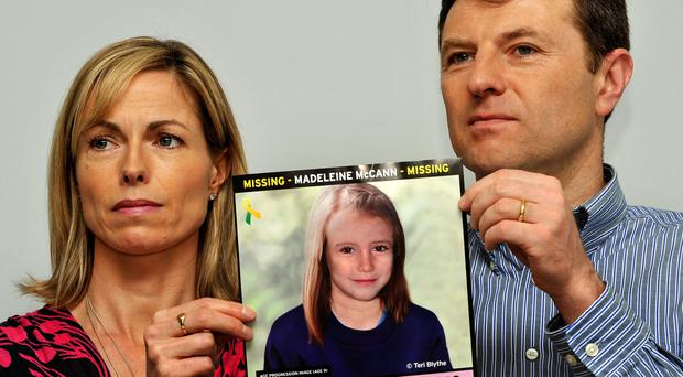 Gerry and Kate McCann, parents of Madeleine (John Stillwell/PA)