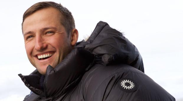 Scott Sears arrived at the South Pole in time for Christmas Day after
