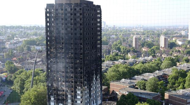 The Grenfell Tower fire killed 71 people (Rick Findler/PA)