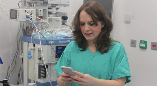 Dr Sarah Hammond helped with the development of the app (St George's University Hospitals NHS Foundation Trust/PA)
