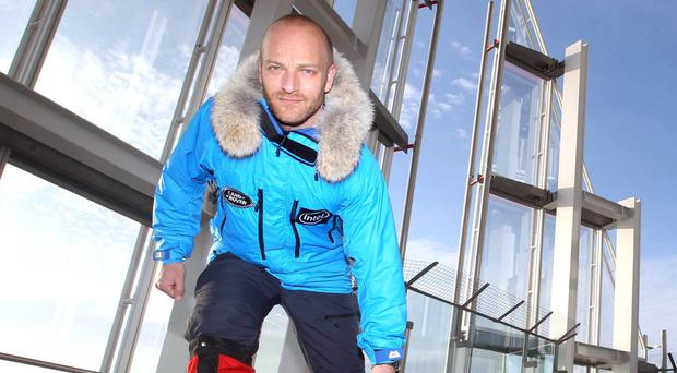 Ben Saunders was forced to cancel his trip when he arrived at the South Pole on Thursday (Lewis Whyld/PA)