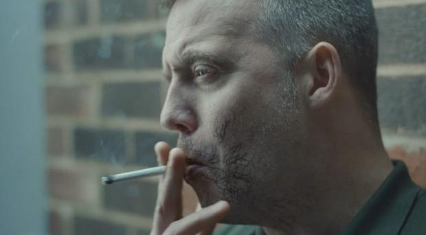 A new ad shows how cigarettes send poisonous chemicals through the bloodstream (Public Health England/PA)