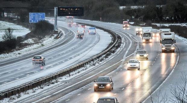 Motorists are urged to take care on the roads (Ben Birchall/PA)