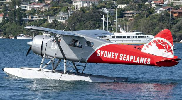 A Sydney Seaplanes' single-engine DHC-2 Beaver (David Oates/AAP/PA)