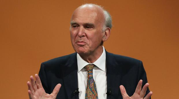 Vince Cable defends plans to use House of Lords to fight Brexit (Andrew Matthews/PA)