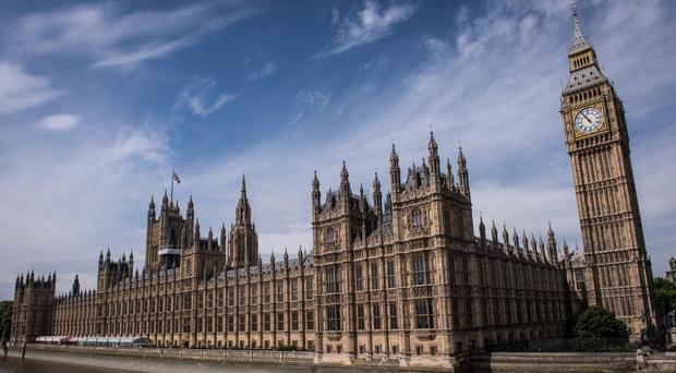 The House of Commons and the House of Lords in London (Stefan Rousseau/PA)
