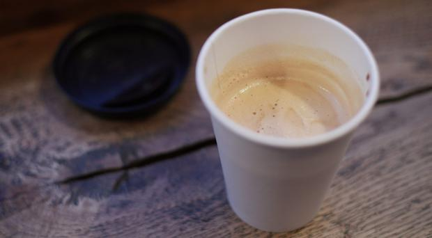 The Government is being urged to introduce a 25p charge on disposable cups on top of the price of a coffee (Yui Mok/PA)