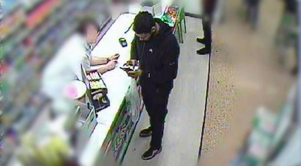 Munir Mohammed on a trip to his local Asda where he bought the wrong type of nail varnish remover to make explosives (Counter Terrorism Policing North/PA)