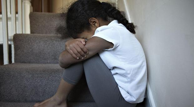 The Welsh Government is consulting on plans to ban the smacking of children. Picture posed by model. (Jon Challicom/NSPCC/PA)
