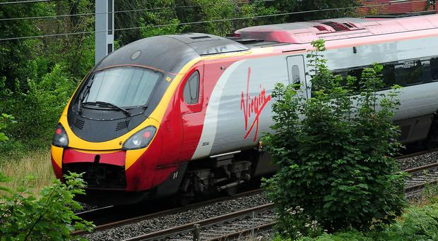 Virgin Trains have removed The Daily Mail from sale (PA)