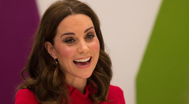 Kate joined delegates at the event run by the Anna Freud National Centre for Children and Families (Oli Scarff/PA)