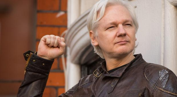 Julian Assange has been granted Ecuadorean citizenship (Dominic Lipinski/PA)