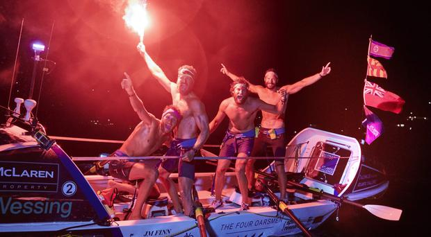 Amateur rowers smash record on Talisker Whisky Atlantic Challenge
