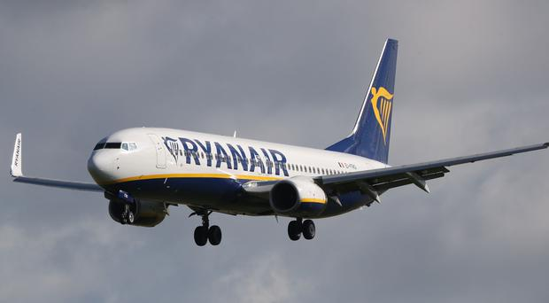 Ryanair introduces new baggage rules (Niall Carson/PA)