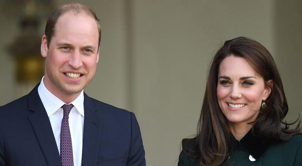 The Duke and Duchess of Cambridge will visit Sweden and Norway (PA)