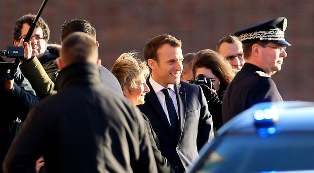 French President visits Calais
