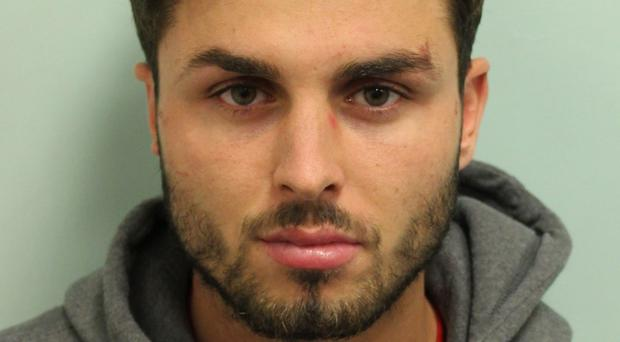 Arthur Collins is serving a 20-year sentence for the acid attack (Metropolitan Police/PA)