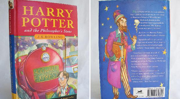A first edition Harry Potter book was taken in the raid (Thames Valley Police/PA)