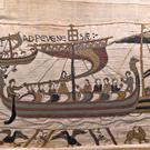A section of the Bayeux Tapestry (Stephane Maurice/Bayeux Museum/PA)