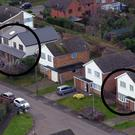 Aerial view of Maids Moreton as police pursue a murder inquiry (Steve Parsons/PA)