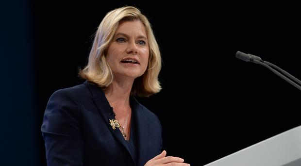 Conservative MP Justine Greening