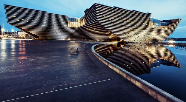 VandA Dundee was designed by Kengo Kuma (Ross Fraser McLean/PA)