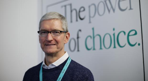 Tim Cook said users would be given the option to turn off the feature (Yui Mok/PA)