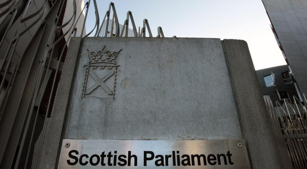 A confidential helpline was set up for all Scottish Parliament building users (David Cheskin/PA)