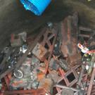 The bread baskets were found in a sewer in Glasgow (Scottish Water/PA)