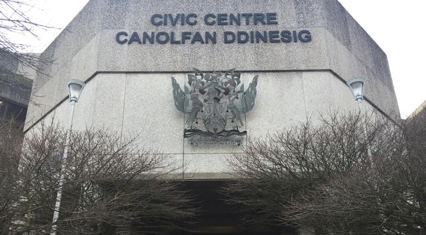 The inquest is being heard at Swansea Civic Centre (Johanna Carr/PA)