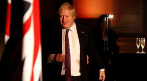 Boris Johnson has raised the prospect of a second channel crossing (Peter Nicholls/PA)