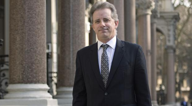 Christopher Steele was paid around 160,000 dollars to research Donald Trump's alleged links with Russia (Victoria Jones/PA)