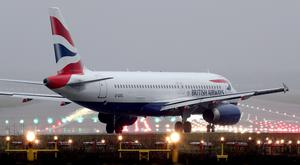 The flight was due to leave Gatwick for Mauritius