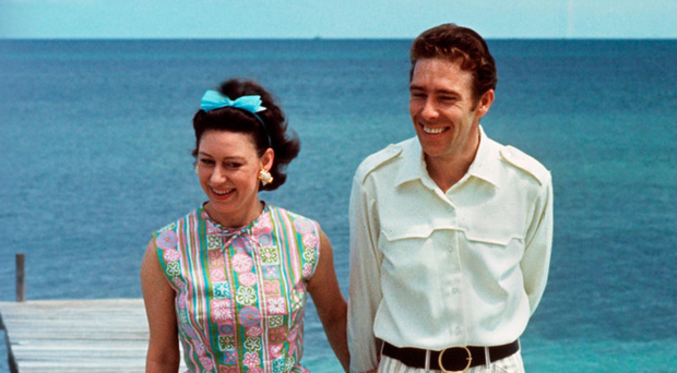 Princess Margaret with her husband the Earl of Snowdon in 1967
