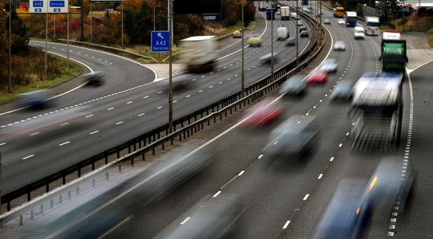 Drivers think a number of motoring offences are likely to go unpunished, according to new research (Rui Vieira/PA)