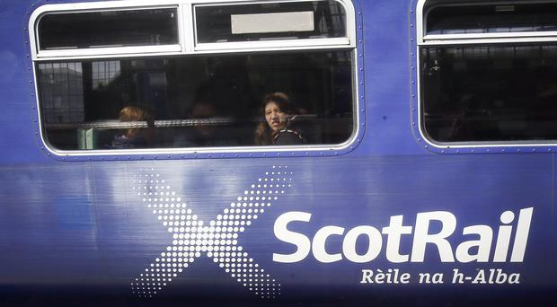ScotRail said services between Fort William and Mallaig will not run for the rest of the day (Danny Lawson/PA)