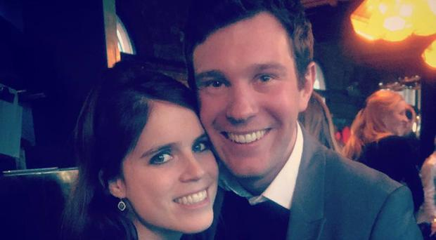 Princess Eugenie of York and her long-term boyfriend Jack Brooksbank have got engaged (@Royal Family/PA)