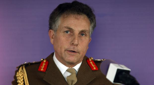 General Sir Nick Carter says the UK must keep up with its enemies (Steve Parsons/PA)